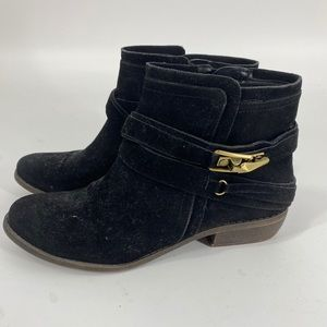 Fergalicious Midas Black Ankle Boot